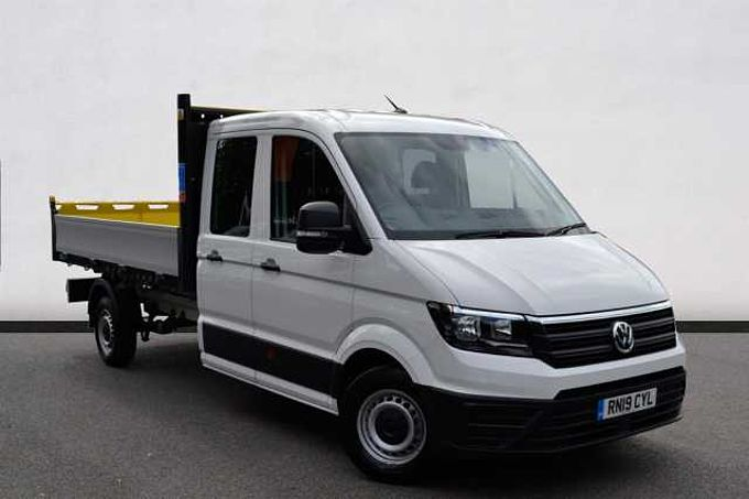 Volkswagen Crafter 2.0TDI 140ps Tipper Double Cab LWB